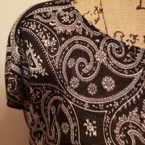 Wrapper Tops - Black blouse